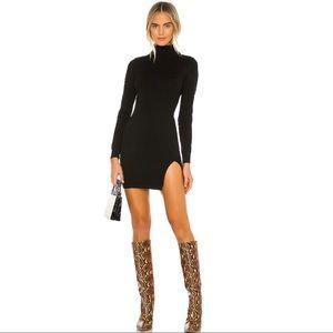 Lovers + Friends Tamarin Sweater Dress in Black
